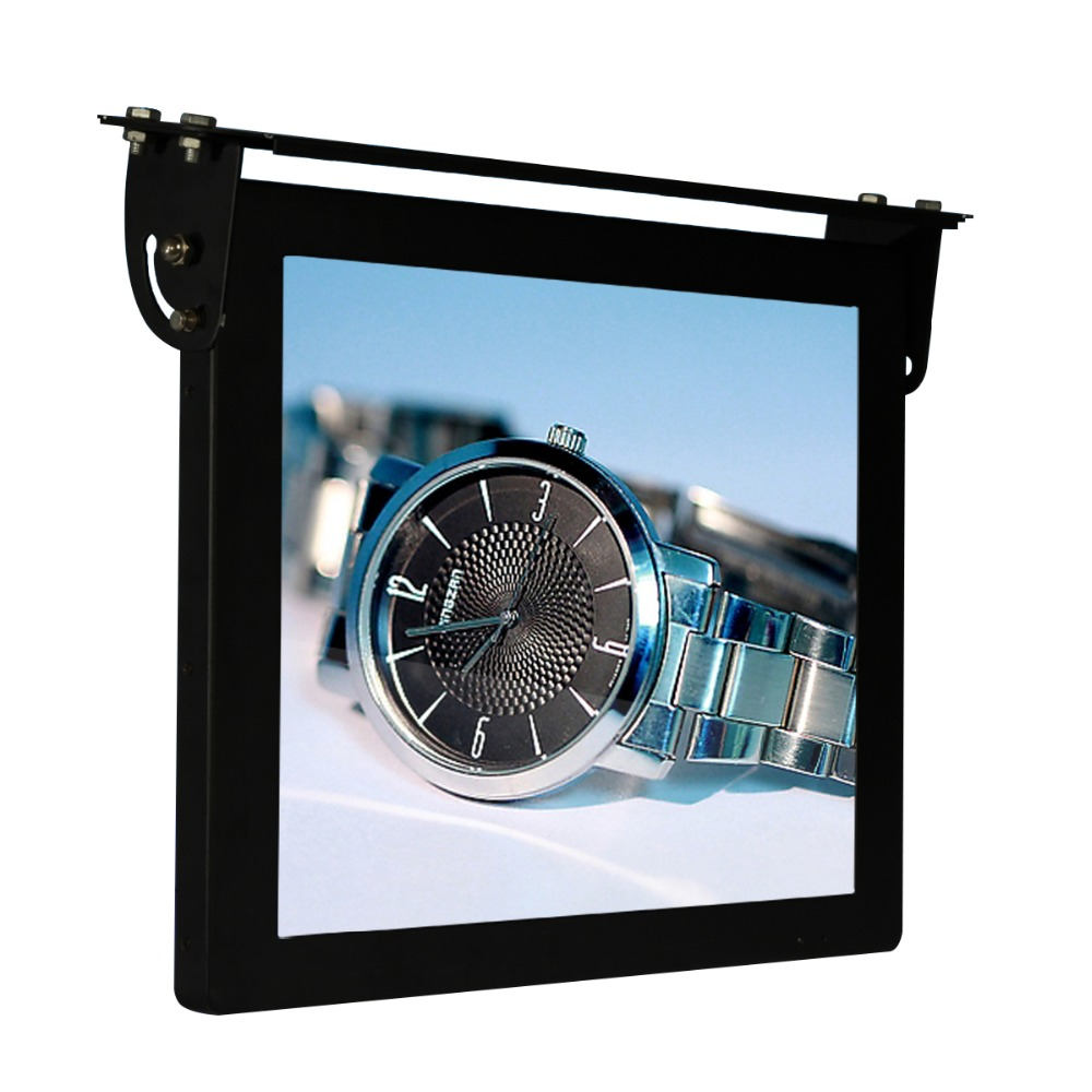 17 Inch LCD 3G Wifi Bus Advertising Screen