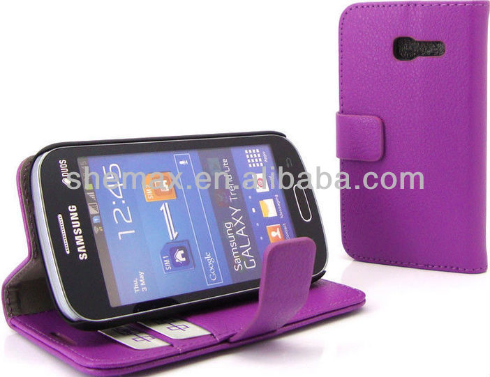New Wallet and phone case all in one for samsung s7392