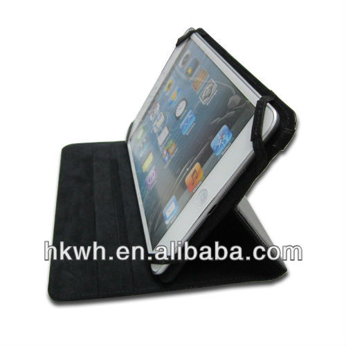 smart cover, with strong magnetic, wake/sleep function case for ipad mini