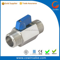 Stainless steel mini ball valve304 316 stainless steel valve for sale investment casting China
