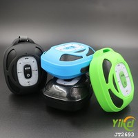 portable mini bass bluetooth speaker with colorful light manufacturer