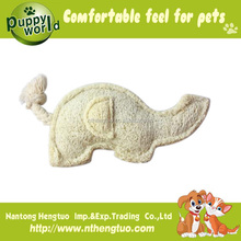 Hot sale loofah ring heavy duty dog toys