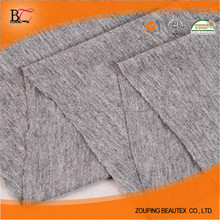 Hot Sale 100% cotton knitted dark grey single jersey fabric for T-shirt