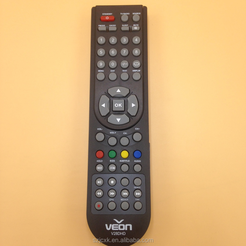 Smart universal 52 keys nobel bpl tv set top box remote control