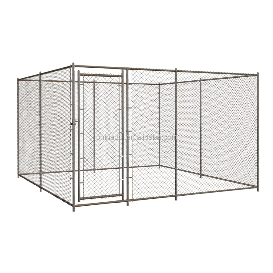 china factory seel hot dip galvanized outdoor large dog cages/dog house/backyard dog playpen