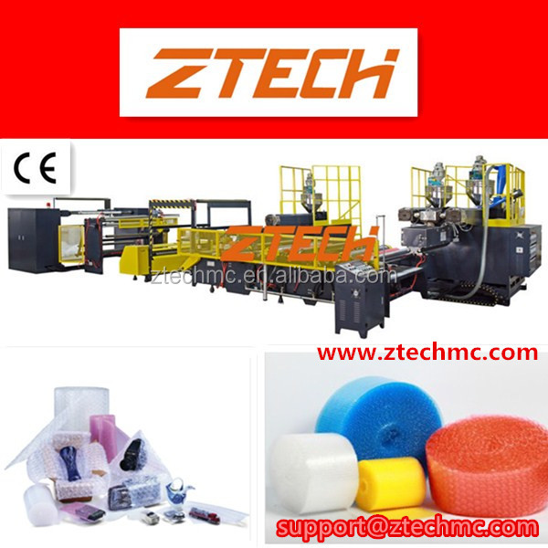 PE bubble film machine /Compound Air Bubble Film Extruder