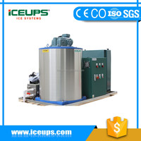 overseas service provided After-sales Service Provided and New Condition flake ice machine for fish