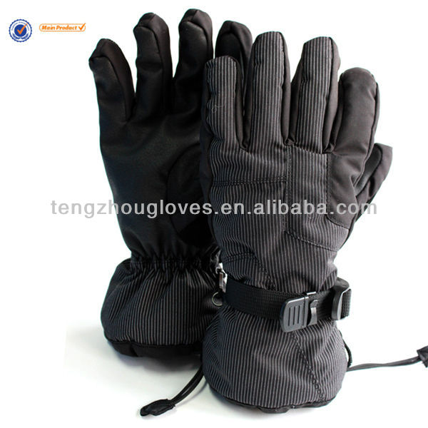 Good design and high quality waterproof ski glove