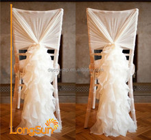 Good sale wedding decoration fancy chair sashes for weddings
