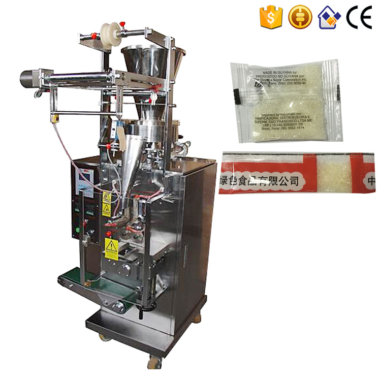 Automatic small pepper tea salt sugar sachet packing machine