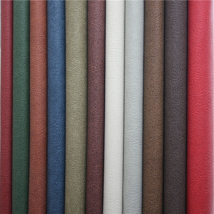 Classical PVC artificial leather superfine quality raw materials for sofa furniture