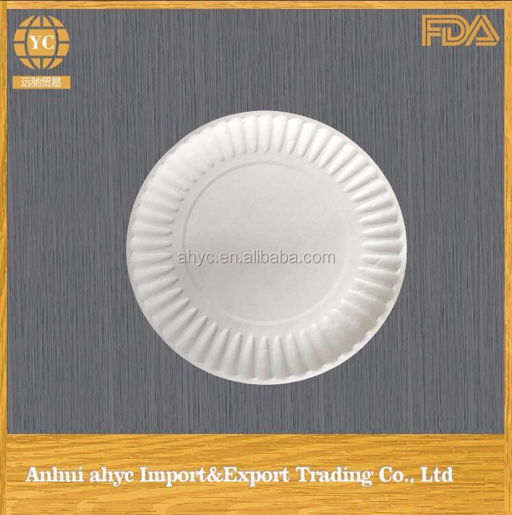 New Style Kitchen Ware Safety Food Customized Paper Plates