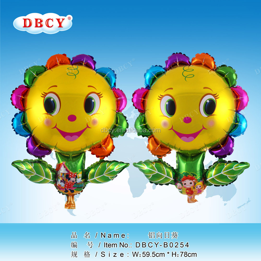 Chinese balloon supplier helium foil flower balloon for party decoration