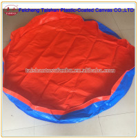 red blue double color low price high quality PE waterproof tarpaulin for All kinds of cover