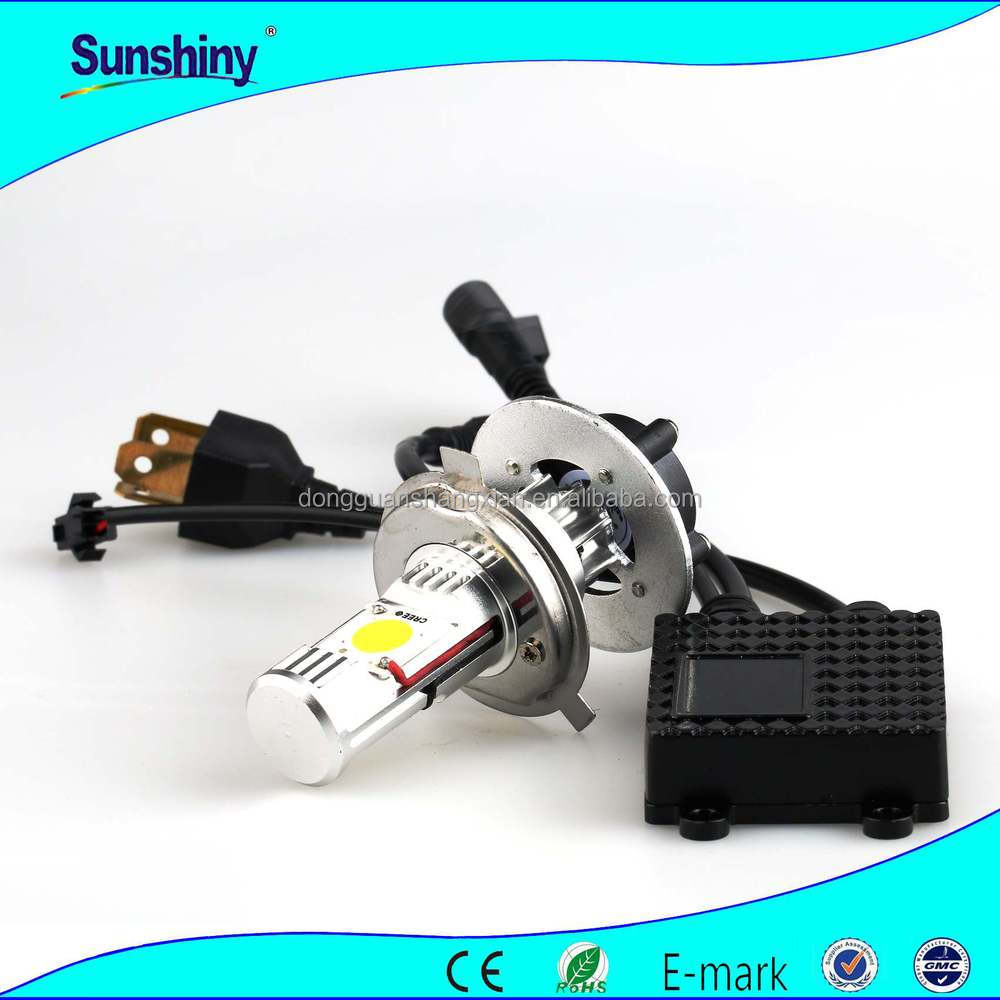 Super power auto headlight for volvo headlight bulbs h4 30w for honda city headlights projector