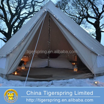 Diameter 4M Romantic Comfortable Outdoor Sibley glamping Tent canvas bell tent