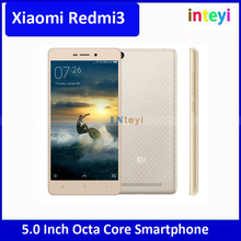 Original Xiaomi Redmi3 16GB Mobile Phone, 5.0 inch Android 5.1 Qualcomm Snapdragon 616 Octa Core, RAM: 2GB Xiaomi Redmi 3 Mobile
