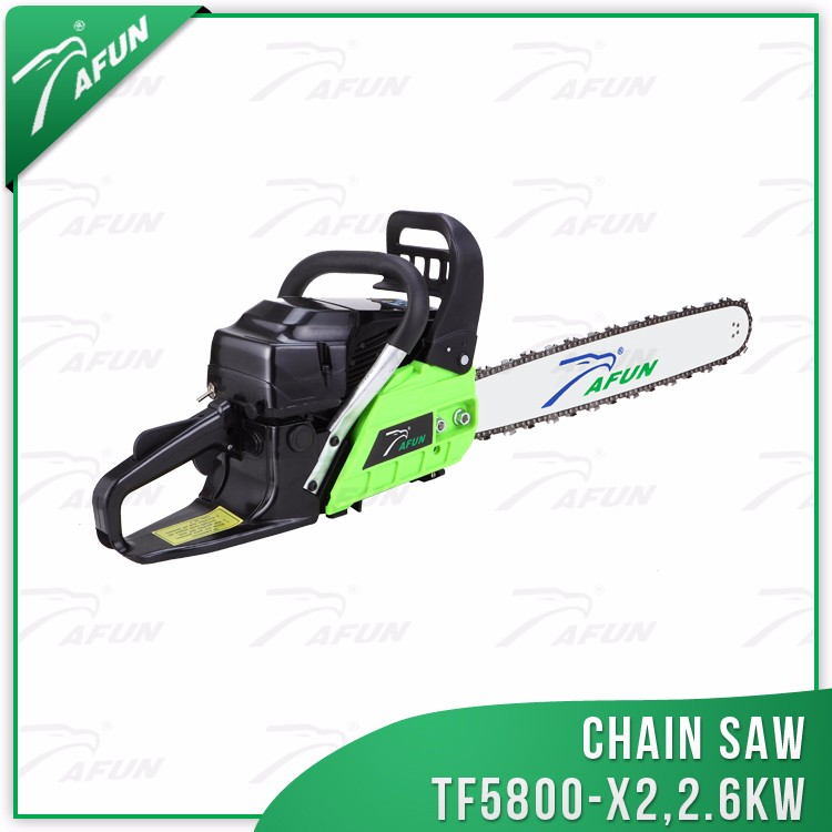 two-stroke oil chain saw for cutting logs hot cutting machine