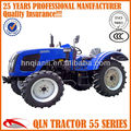 QLN654 65hp new mini wheel tractors farm track tractor price
