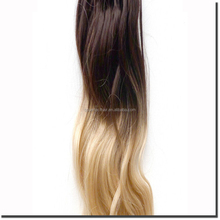 Unprocessed Wholesale Human Virgin Brazilian Micro Bead Human Hair Extensions