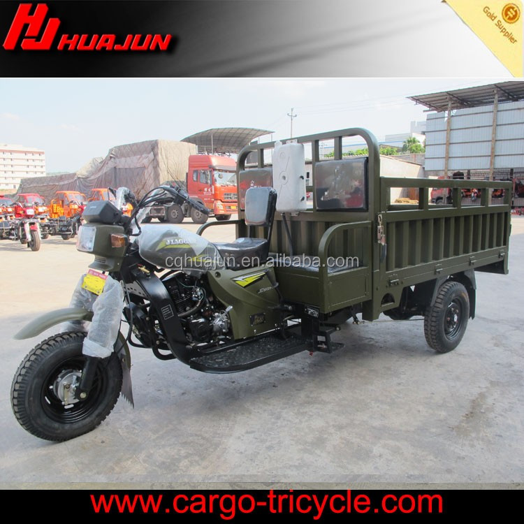 Gasoline tuk tuk chinese engine power three wheel motorcycle