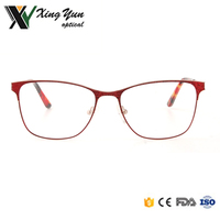CH8025 hot selling fashion modern woman metal double two color optical glasses frames