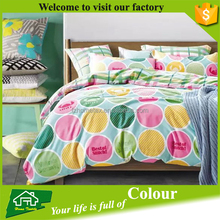 Colorful Printed Cotton Bed Sheet Set