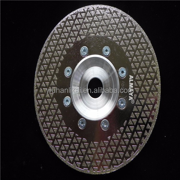 125mm electroplated diamond marble cutting disc