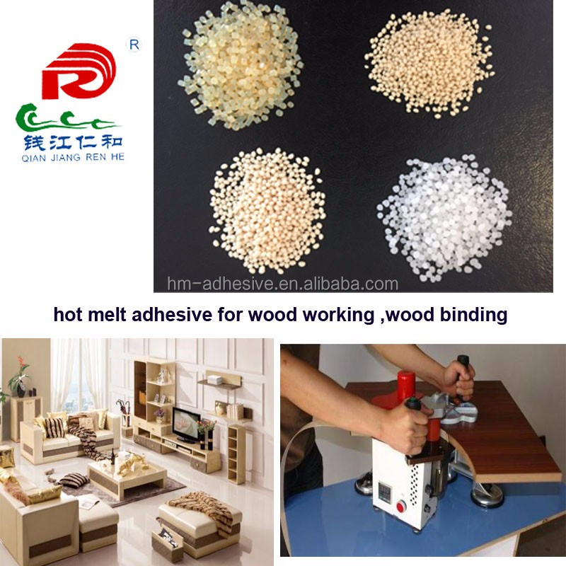 transparent wood use furniture hot melt adhesive