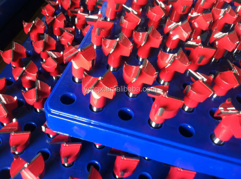 TC0109 Hard Material Tungsten Carbide Tipped Half Inch Shank Hinge Boring Bit For Drilling