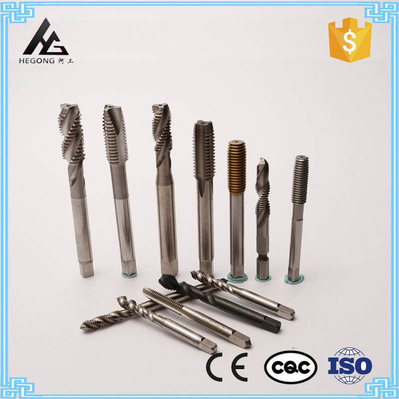 HSS Co Fully Ground Thread Taps Bottoming Style and Nitride