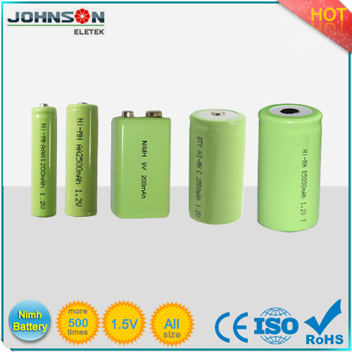 nimh battery pack aa 1800mah 1.2v rechargeable nimh battery AAA/AA/A/SC/C/D/F