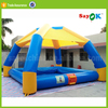 new style outdoor inflatable party tent for kids with floor mattress for fun