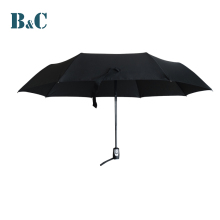 Wholesale cheap rubber handle black sunshade folding parasols umbrellas