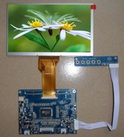 INNOLUX 7 inch LCD/tft/display panel,7 inch 800*480 TTL/LVDS/VGA panel,AT070TN92