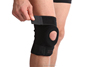 2017 effectively free size anti-slip down fabric support knee strap