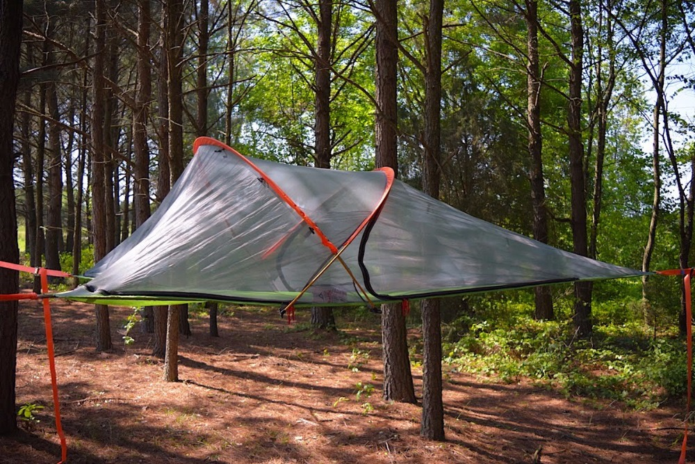 Mosquito Net Portable Waterproof Camping Hanging Tree Hammock suspended tent