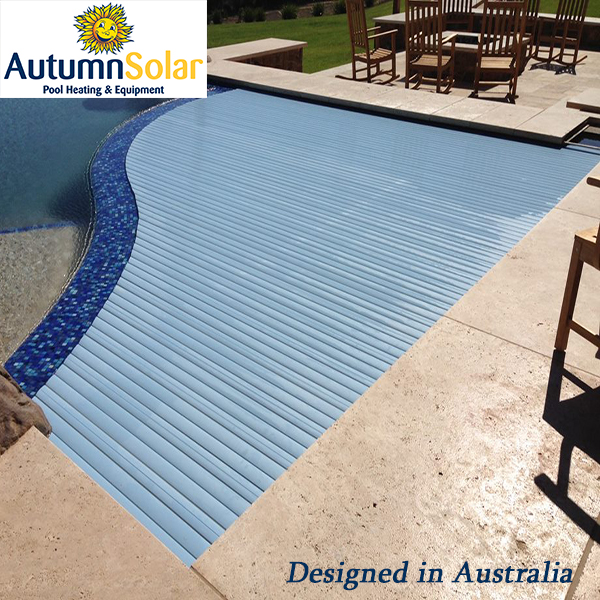 clear blue color automatic pool cover with remote controller