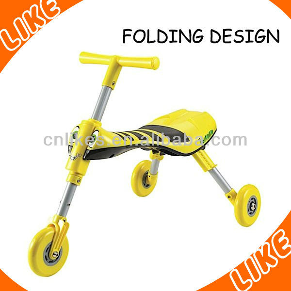 plastic fashion trike scooter for sale