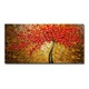 MYT 3D Knife Thick Flower Tree Oil Painting On Canvas Abstract Picture