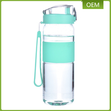 Large design tritan material 820ml empty plastic drinking travel water bottle with filter