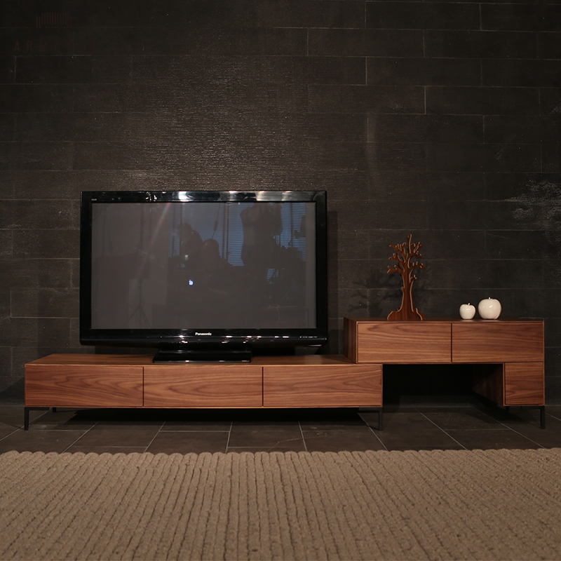 Wooden Living Room Furniture Partition Tv Stand
