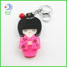 New Tide Hot Promotional Little Girl Key Chain