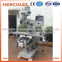 Vertical turret ram type Milling Machine, manufacturer specification of vertical milling machine M4A-R