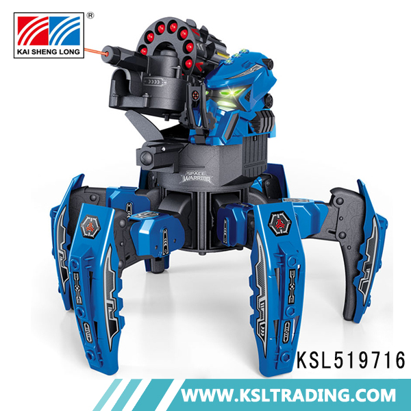 2.4G new products DIY shooting rc robot fighting toys in chenghai