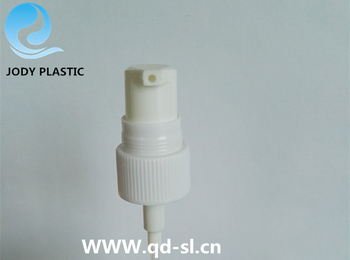 Plastic Black 18mm Cream Pump for Small facial care Bottles