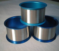 Sputtering and Shooting pure Dia 0.32mm high Purity 99.999% Ag silver wire
