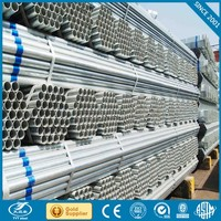 Galvanized steel pipe hot dip galvanized steel pipe trading with CE certificate