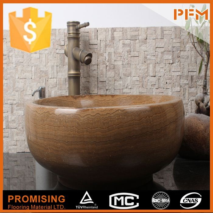 natural well polished beautiful decorative new crema marfil square velamen sink bathroom