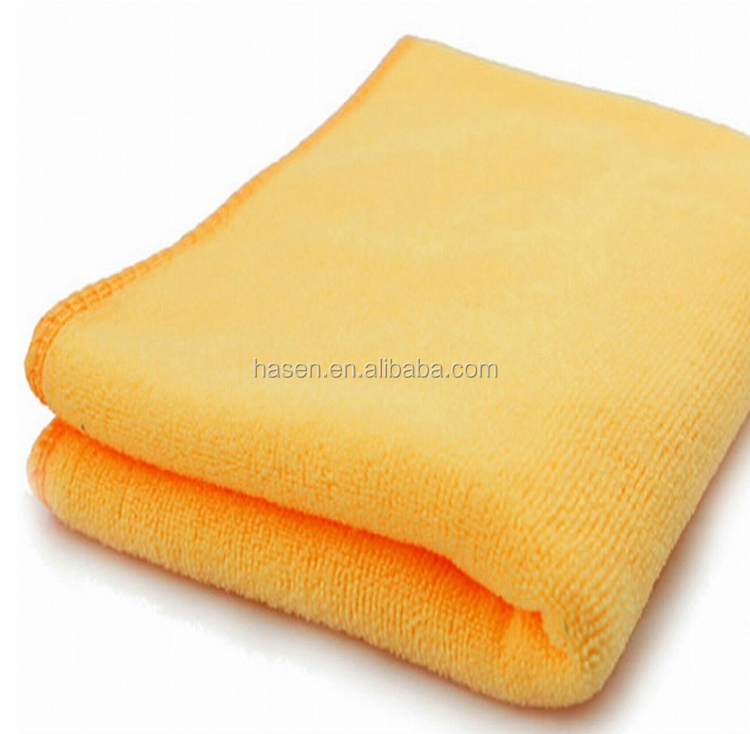 13 years factory , wholesale super quality microfiber nonwoven cleaning towel